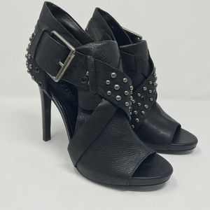 Luxury Rebel 38.5 studded heels sandals
